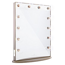 Impressions Hollywood Glow™ XL IV Vanity Mirror in Champagne Gold