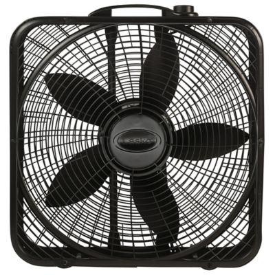 Lasko 20 Inch Power Plus Fan Box In Black Bed Bath Beyond