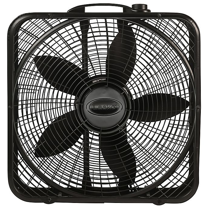 Alternate image 1 for Lasko® 20-Inch Power Plus Fan Box in Black