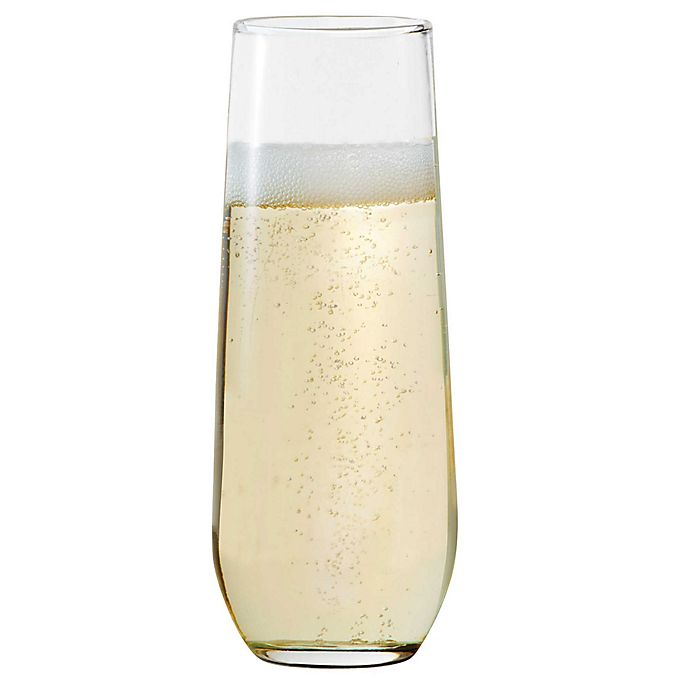 Alternate image 1 for Dailyware™ Stemless Champagne Flutes (Set of 4)