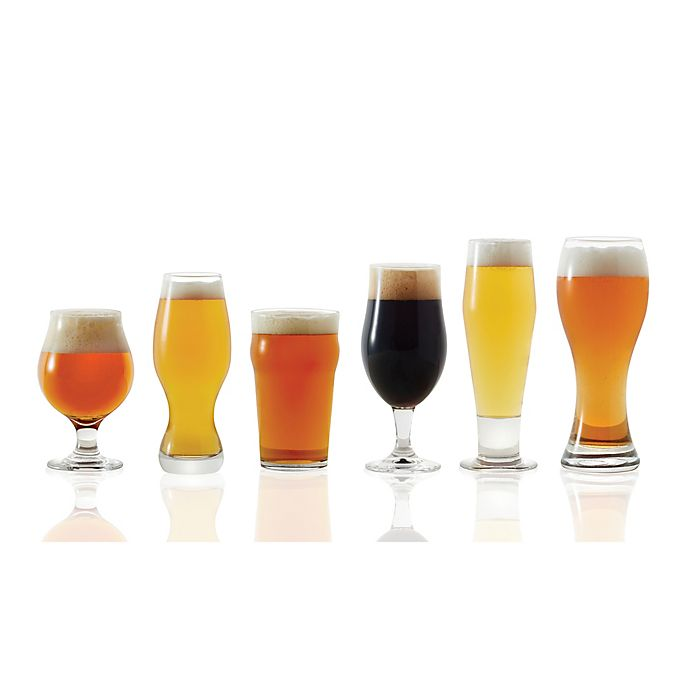 Alternate image 1 for Dailyware™ 6-Piece Assorted Craft Brew Beer Glass Set