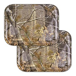 Real Tree Melamine Serving Trays in Camouflage (Set of 2)