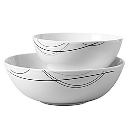 Tabletops Gallery® Alec 2-Piece Serving Bowl Set