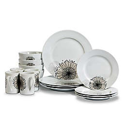 Tabletops Gallery® Amanda 16-Piece Dinnerware Set
