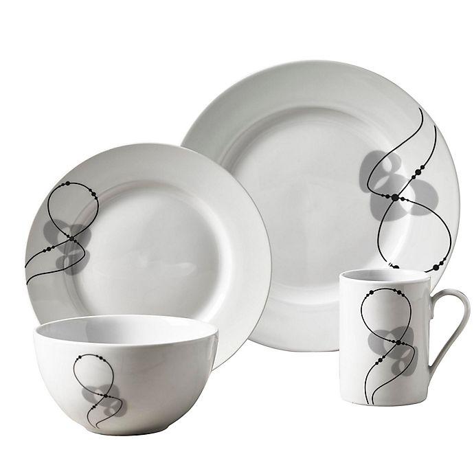 Alternate image 1 for Tabletops Gallery® Jacqueline 16-Piece Dinnerware Set