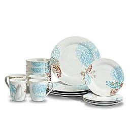 Tabletops Gallery® Emma 16-Piece Dinnerware Set