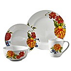 Tabletops Gallery® Grace 16-Piece Dinnerware Set