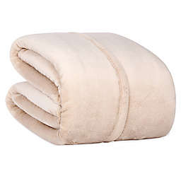 Berkshire Blanket® Serasoft® Twin Blanket in Linen