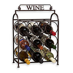 Vintage 9 Bottle Wine Rack