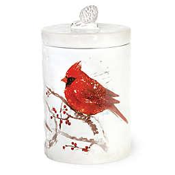Boston International Birds of the Season Cardinal Cookie Jar