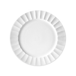 Nevaeh White® by Fitz and Floyd® Fluted Salad Plate