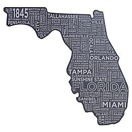 Top Shelf Living Florida Etched Slate Cheese Board