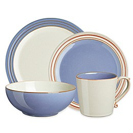 Denby Heritage Fountain Dinnerware Collection in Blue