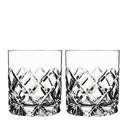 Orrefors Sofiero Double Old Fashioned Glasses (Set of 2)