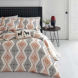 Azalea Skye® Cusco Rhombus 3-Piece Reversible Duvet Cover Set in Beige