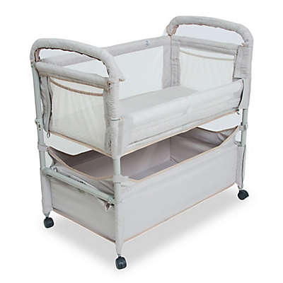 Arm's Reach® Clear-Vue™ Co-Sleeper® with Deep Basket in Grey
