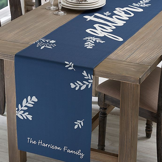 Alternate image 1 for Personalized Cozy Home Table Runner