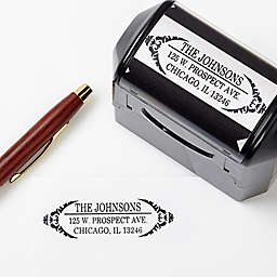 Delicate Flair Self-Inking Address Stamp