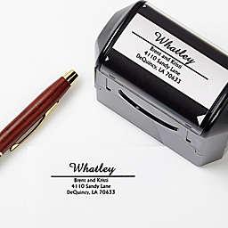 Alberta Self-Inking Address Stamp