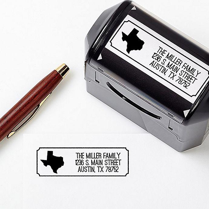 Alternate image 1 for Home State Self-Inking Stamper