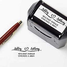 Loving Pair Address Stamp