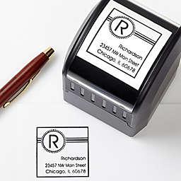 Square It! Self-Inking Address Stamp