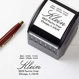 All About Family Self-Inking Address Stamp