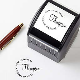 Simply Sealed Self-Inking Address Stamp
