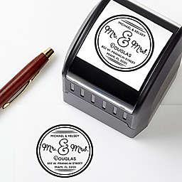 Circle Of Love Self-Inking Address Stamp