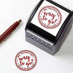 Words of Encouragement Self-Inking Teacher Stamp
