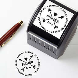 Love Self-Inking Custom Address Stamp
