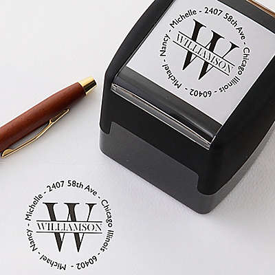 Namely Yours Self-Inking Address Stamp