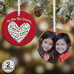 Heart of Love Christmas Ornament Collection