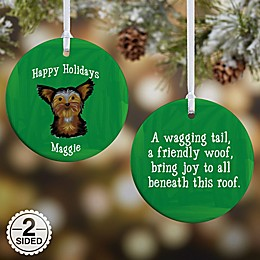 Top Dog Breeds Christmas Ornament Collection