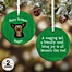 Part of the Top Dog Breeds Christmas Ornament Collection