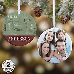 Our Loving Family Christmas Ornament Collection