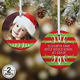 Classic Christmas Photo Christmas Ornament Collection