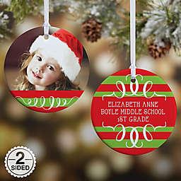 Classic Christmas Photo Christmas Ornament Collection