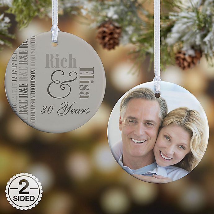 Alternate image 1 for Anniversary Memories Christmas Ornament Collection