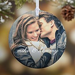 You & I 1-Sided Glossy Photo Christmas Ornament