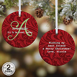 Name Meaning 2-Sided Glossy Christmas Ornament