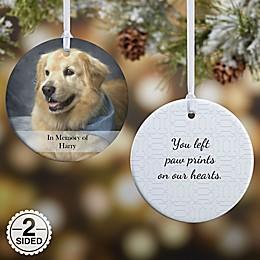 Pet Photo Memories Christmas Ornament Collection