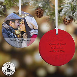 Photo Sentiments Christmas Ornament Collection