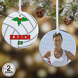 Volleyball Christmas Ornament Collection