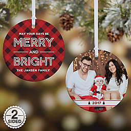 Merry & Bright Christmas Ornament Collection