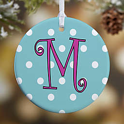 Dot To Dot 1-Sided Glossy Christmas Ornament