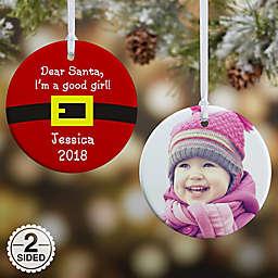 Dear Santa Christmas Ornament Collection