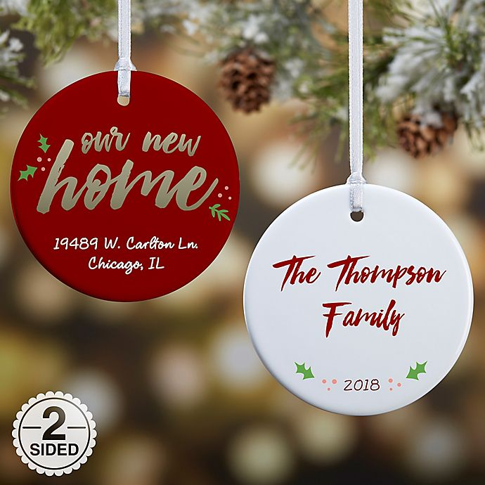 f88f1a2419269 Our New Home Christmas Ornament Collection