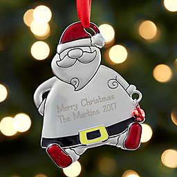 Ho! Ho! Ho! Santa Christmas Ornament