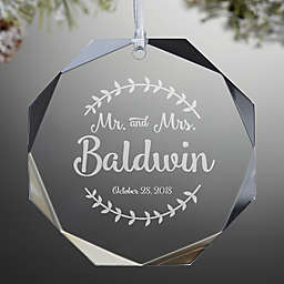 Personalized Christmas Decor.Personalized Christmas Ornaments Bed Bath Beyond
